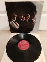 """Rolling Stones Self Titled Vinyl 12"""" LP LK 4605 1/A 3/A Press 1964"""
