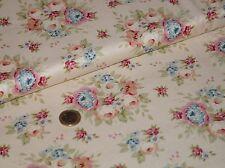 Tilda Garden Flower Weiß Fat Quarter 50x50cm Patchworkstoff Baumwolle Quiltstoff