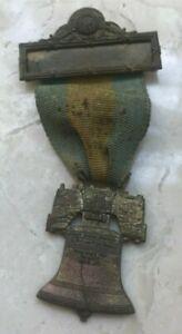 United Spanish War Veterans Visitor Medal - 1930 Philadelphia - Liberty Bell