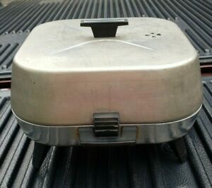 Vintage Sunbeam Aluminum Electric Frypan Fry Pan Fryer Skillet With Cable