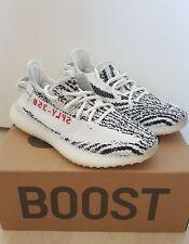 Adidas YEEZY boost 350 V2 ZEBRA US8.5   EU 42   UK8   white black red beluga
