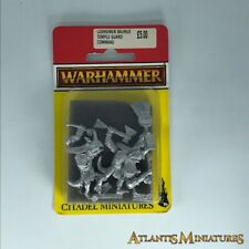 Lizardmen Saurus Temple Guard Command Blister - Warhammer Age of Sigmar C1636