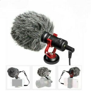 BOYA BY-MM1 Cardioid Shotgun Microphone for DSLR Camera Smartphone Camcorder US