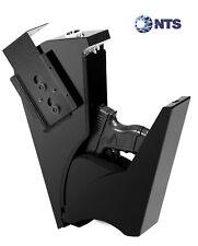 Mountable Gun Safe Pistol Single Handgun Keypad Lock Quick Access Home Security