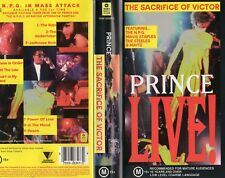 PRINCE LIVE! - The Sacrifice of Victor - VHS - PAL - N&S - Original Oz release