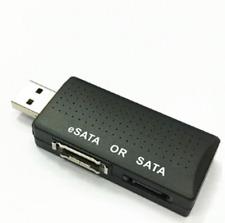 USB 2.0 TO Serial ATA SATA/eSATA Bridge Adapter