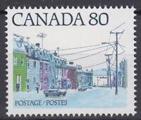 CANADA #725 80¢ Maritime Street Scene Mint Never Hinged