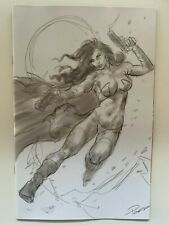 DEJAH THORIS #6 1:50 Parrillo B&W Virgin Variant Dynamite Comics - Auction 3
