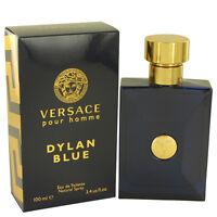 NEW Versace Dylan Blue Pour Homme for Men Eau de Toilette Spray100ml 3.4 oz NIB