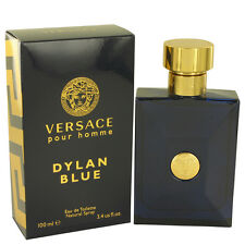 NEW Versace Dylan Blue Pour Homme for Men Eau de Toilette Spray100ml 3.4 oz NIB