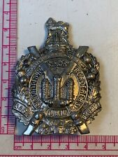 More details for ww1 / ww2  british army kings own scottish borderers cap badge (small)