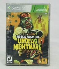 Red Dead Redemption: Undead Nightmare (Microsoft Xbox 360) Platinum Hits NEW