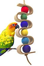 1419 Dnalien Leather Bird Toy parrot cages conure cockatiel lovebird parakeet