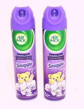 2 Can AIR WICK Snuggle White Lavender Air Fresheners Room Spray