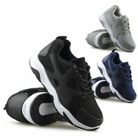 Boys Girls Kids Childrens Casual Lace Up School Sports Gym Trainers Shoes Size