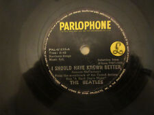 THE BEATLES 78 RPM I SHOULD HAVE KNOWN BETTER/AND I LOVE HER(ORIG PHILIPPINES)