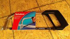 "Nicholson 80951 General Purpose Hacksaw Frame, 10-12"""