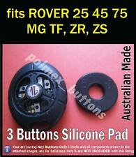 fits MG ROVER TF ZR ZS ZT 25 45 75 Remote Key Fob - 3 BUTTONS Repair Pad