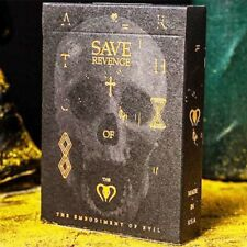Save Revenge Playing Cards Limited Edition Evil Vengeance Soul Deck by Bocopo