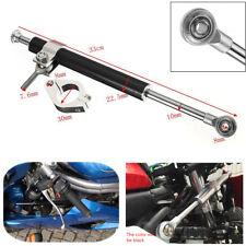 330mm Aluminum Universal Steering Damper 6Way Adjustable Stabilizer For Kawasaki