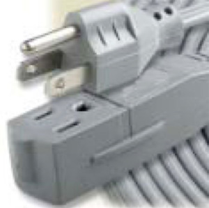 Woods 5601 16/3 25-Foot SJTW Indoor Extension Cord, Perfect for Home or Office,