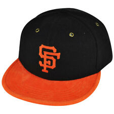 MLB American Needle San Francisco Giants Strap Back Black Striped Wool Hat Cap