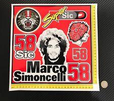 Stickers-adhesivos-pegatinas-adesivi-aufkleber-autocollants  Marco Simoncelli 58