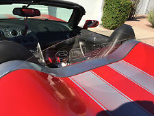 PONTIAC SOLSTICE ROADSTER ENGRAVED WIND BLOCKER WIND DEFLECTOR WINDBLOCKER!