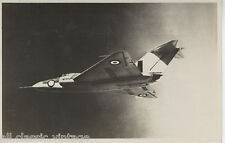 Postcard 1155 - Aircraft/Aviation Real Photo Gloster Javelin