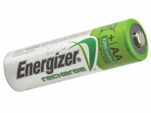 Energizer - AA Rechargeable Universal Batteries 1300 mAh Pack of 4 - S625