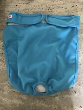 Wegreec Re-useable Dog Diaper Open Size XXL Turquoise blue GUC Female preowned