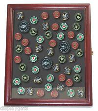 Beer/Soda Bottle Cap Display Case Shadow Box Wall Cabinet : MX-KC02_CH