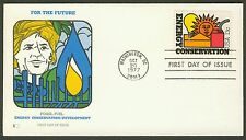 #1723 13c Energy Conservation, Fleetwood FDC **ANY 4=FREE SHIPPING**