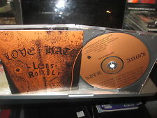 LOVE/HATE Let's Rumble CD SIGNED