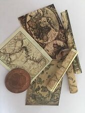 three Victorian Dolls House Maps 1/12th scale !! 99p 99p 99p!!