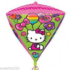 HELLO KITTY Diamondz FOIL MYLAR BALLOON ~ Birthday Party Supplies Decorations