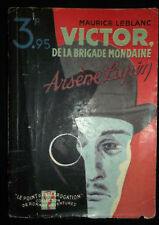 Victor, de la Brigade Mondaine - Arsène Lupin - Maurice Leblanc - 1934