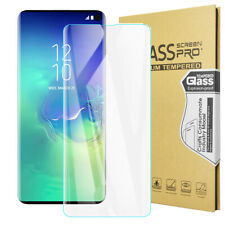 3D Full Cover Tempered Glass Screen Protector Samsung Galaxy S20 Ultra S10 Plus