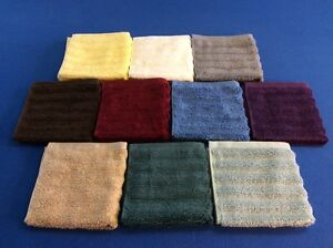 """washcloths, soft, thick, absorbent, 100% cotton,13""""x13"""" in various bright colors"""