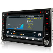Doppel 2 Din GPS DVD Player NAVI Autoradio RDS Bluetooth USB MP3 8G-SD WiFi *3G