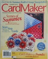 Card Maker Summer 2014 Scenes of Summer Stair Step Cards Trends FREE SHIPPING sb
