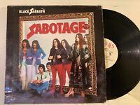 Black Sabbath – Sabotage LP 1979 US 2st Press  Warner Bros. BS 2822 VG RE