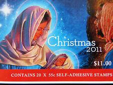 Australian Decimal Stamps: 2011 - Christmas Booklet MNH
