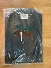 Happy Chef Uniforms Chef Coat Style #501 Black Size Xl Unisex