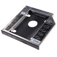 9.5mm SATA 2nd HDD SSD Hard Drive Caddy for CD/DVD-ROM Optical Bay YCD CA