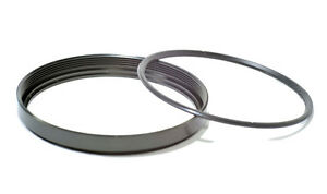 Metal Filter Ring and Plastic Retainer 52mm