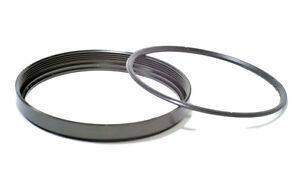 Metal Filter Ring and Metal Retainer 58mm