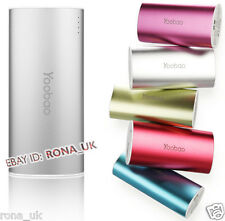 NEW *Yoobao  S3 Power Bank 6000 mAh Quality External USB Battery Charger SILVEr