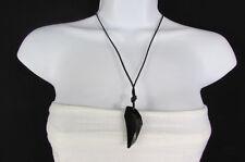 Women Big Black Crystal Lizety Swarovsky Elements Pendant Fashion Cute Necklace