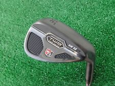 Wilson Staff TW9 56 Sand Wedge Tour Milled Black Finish Steel Wedge NEW 56.12 RH
